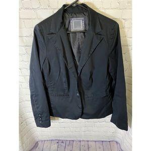 Old Navy Black Fully Lined Blazer Size L